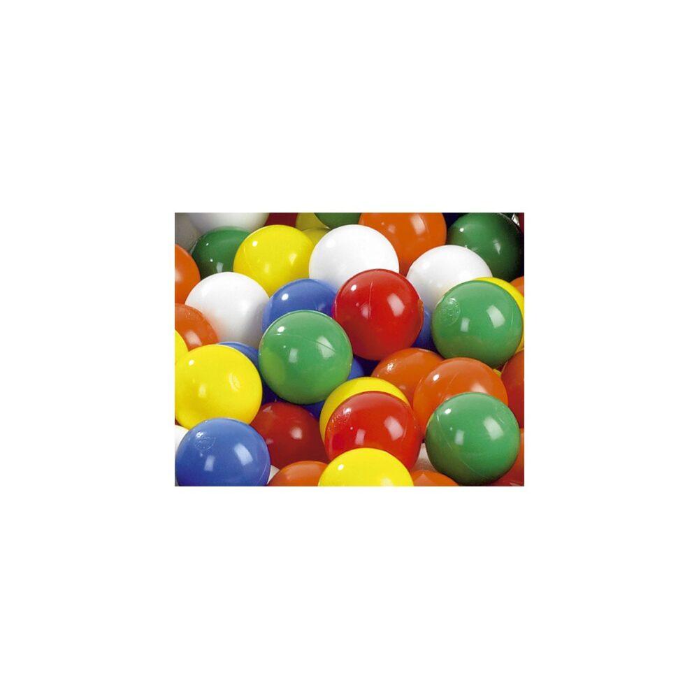 Flerfarvede bolde