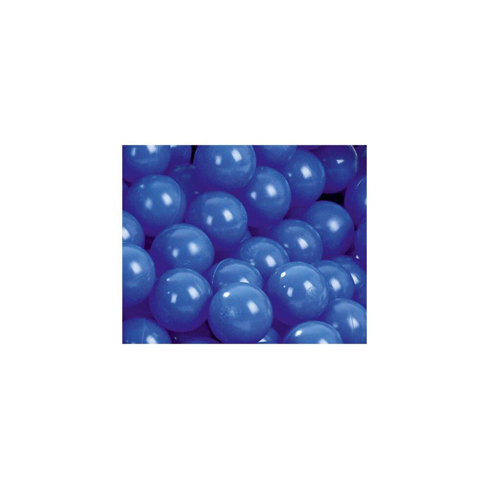 Blå bolde til boldbad