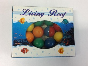 Sæt med 10 farverige bolde , Ø15 mm