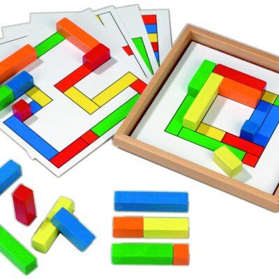 Arrangeringsspil – mål og sammenligning