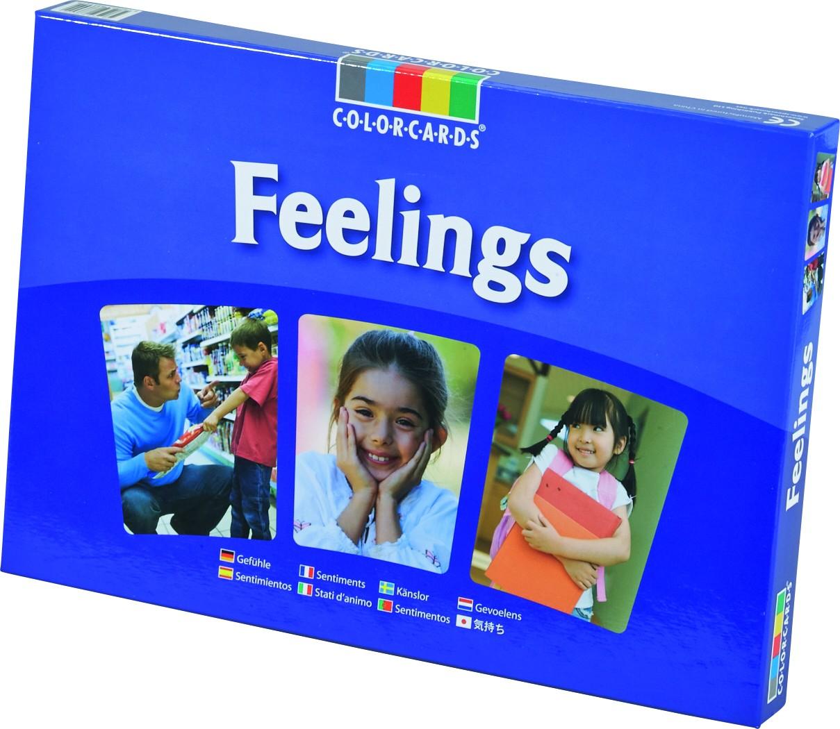 Billedkort - følelser