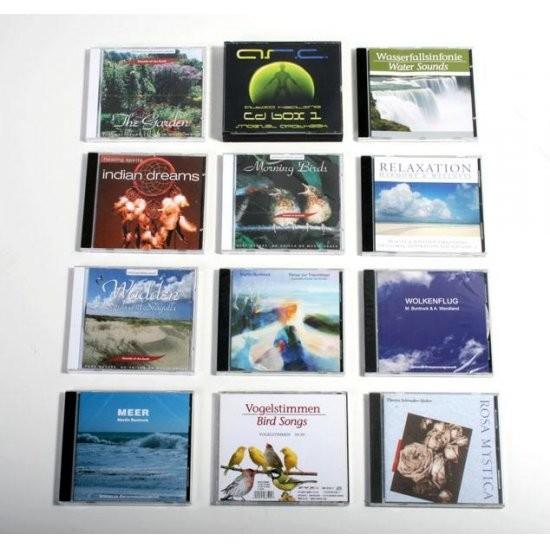 CD'er med smukke afslappende lyde