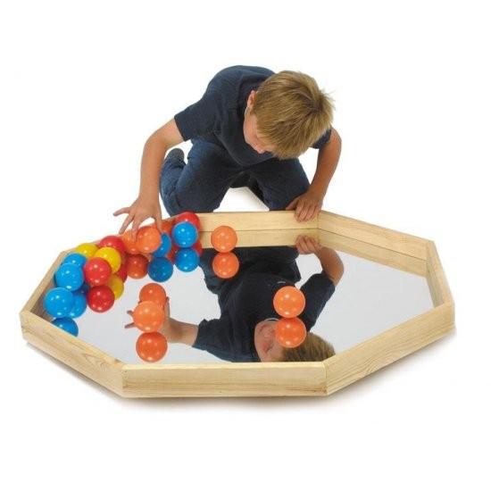 Balance spejlplade med bolde
