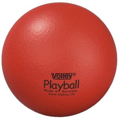 Blød legebold Ø16 cm - rød