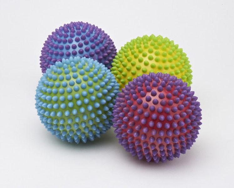 Sæt med 2 taktile bolde Ø10 cm