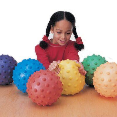 Slow motion bolde - Sæt med 6 bolde - Ø15 cm