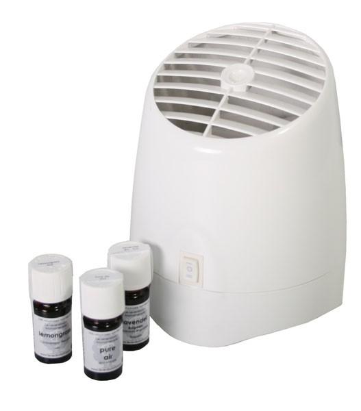 Aromaterapi damper - Inkl. 3 olier