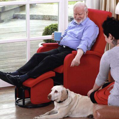 Thevo Chair med fodskammel