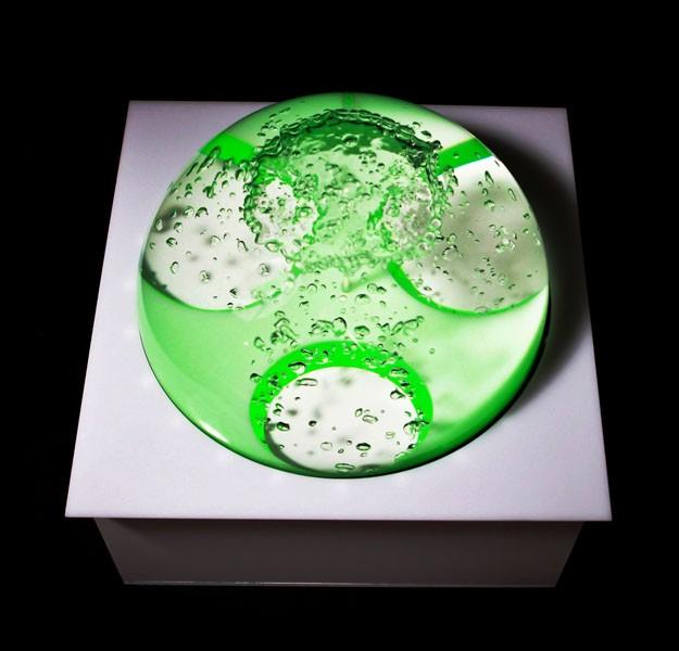 LED vandkugle 40 x 40 cm - fritstående