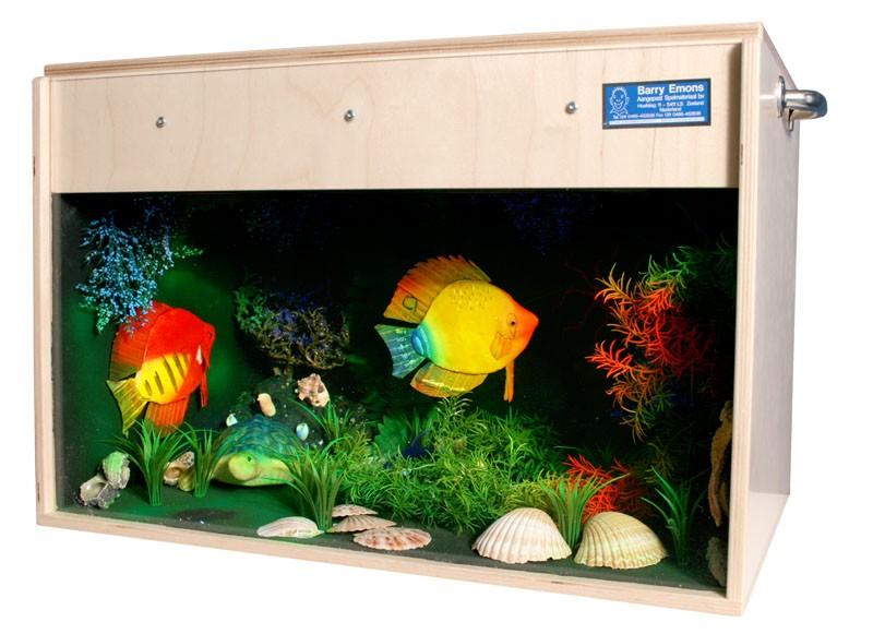 UV Akvarium - Mobilt